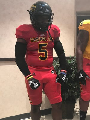 7392edaf6281 Grambling State unveils new adidas football uniforms