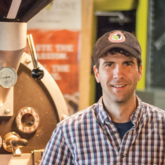Rob Webb, owner of Just Love Coffee Roasters