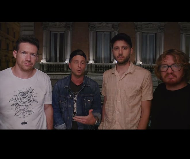Members of OneRepublic make a Facebook plea for donations to support the wife of a crew member.