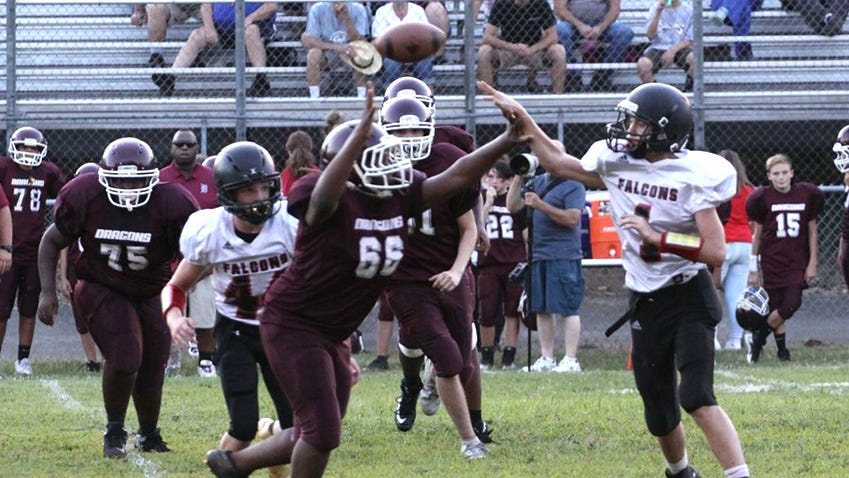 Fairview Falcons defeat Dragons on the road
