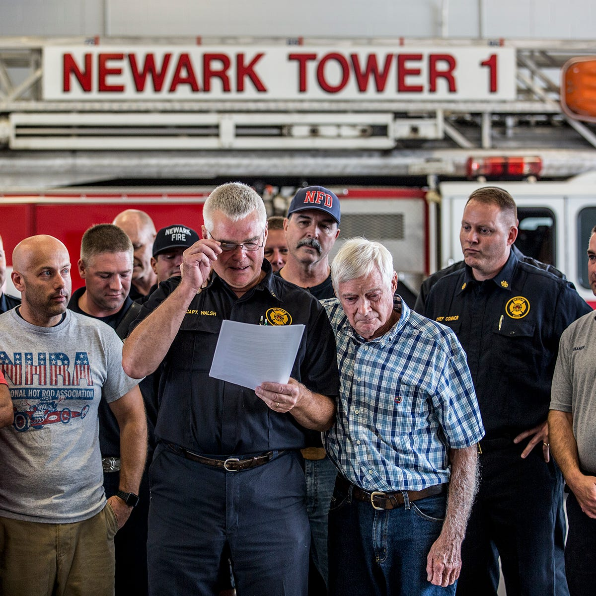 41-year veteran of Newark Fire Department retires