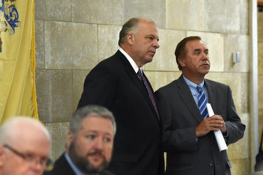 Senate President Stephen Sweeney, D-Gloucester, and Assembly Speaker Craig Coughlin, D-Middlesex.