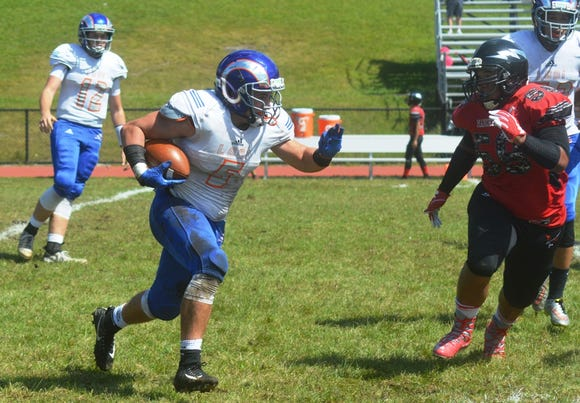 Lodi senior running back Sean Tocci will look to pile up yards on the ground this season.