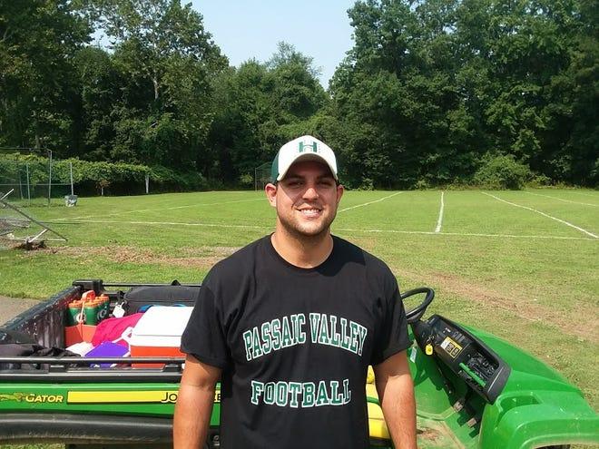 Ryan Berube is entering his second full season as Passaic Valley's athletic trainer.