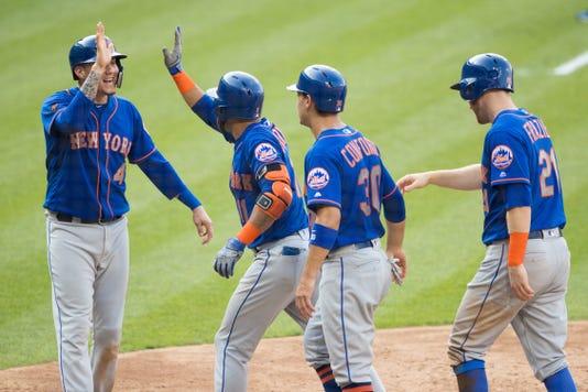 Mlb Game One New York Mets At Philadelphia Phillies