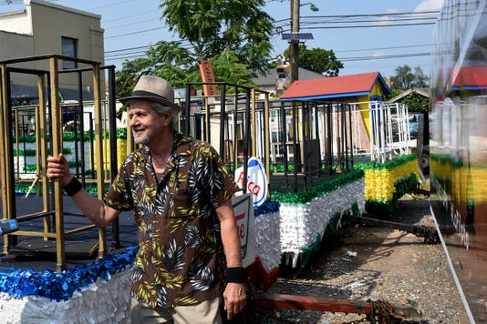 Bond Parade Floats In Clifton Nj
