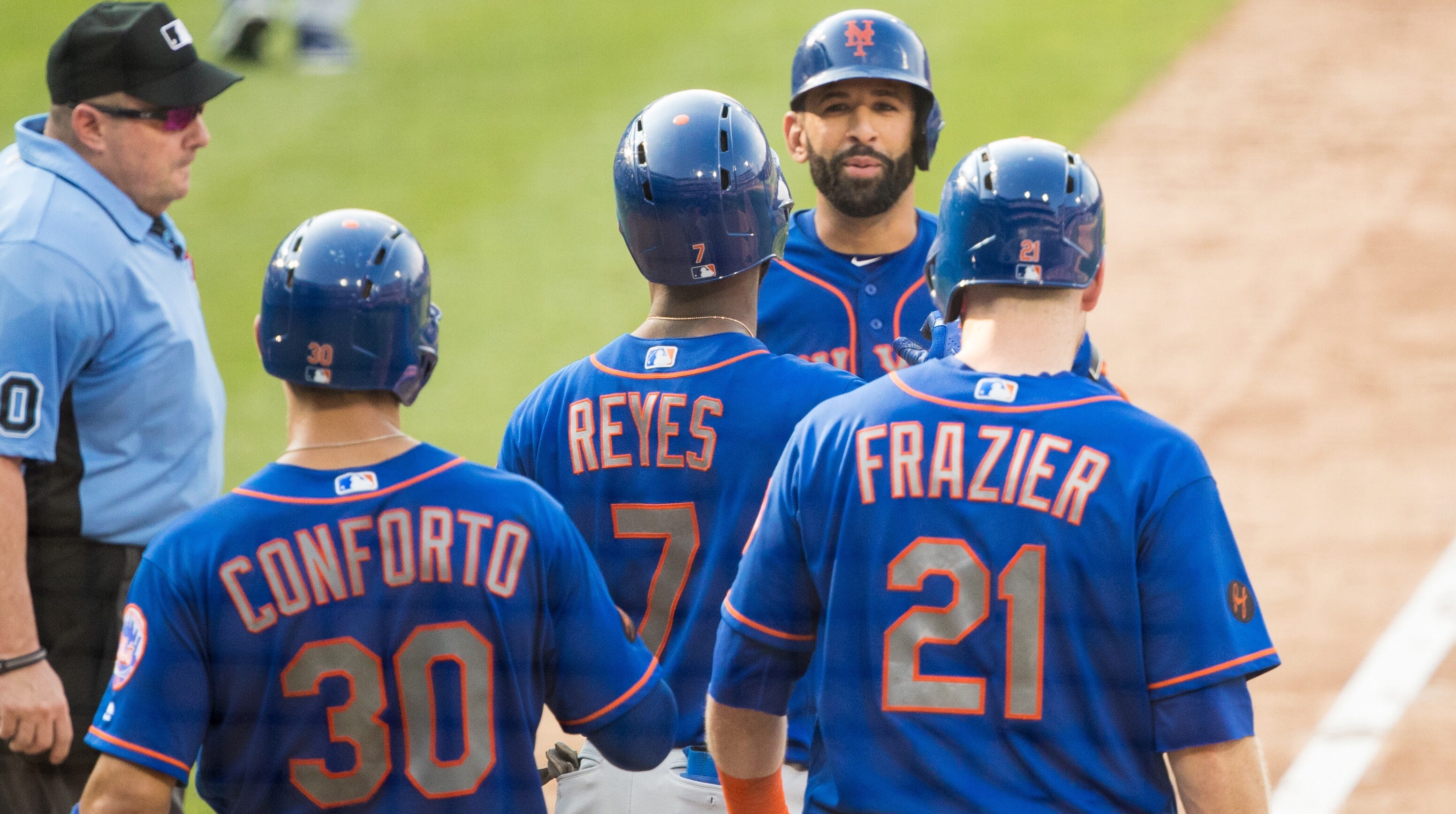 The Mets have scored at least 16 runs in back-to-back games for the first time after beating the Phillies, 24-4. They lost 9-6 in the nightcap.
