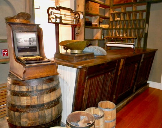 The Gutiérrez family, and later the Hubbles, ran a mercantile on the property. This is an example of what the store looked like.