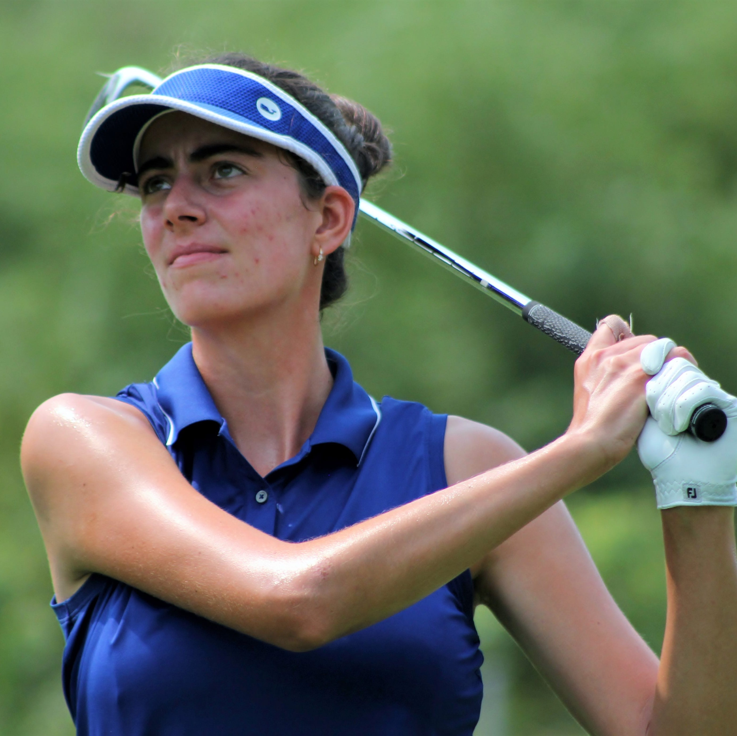 South Lyon's Priscilla Harding reaches quarters in Michigan Women's Am