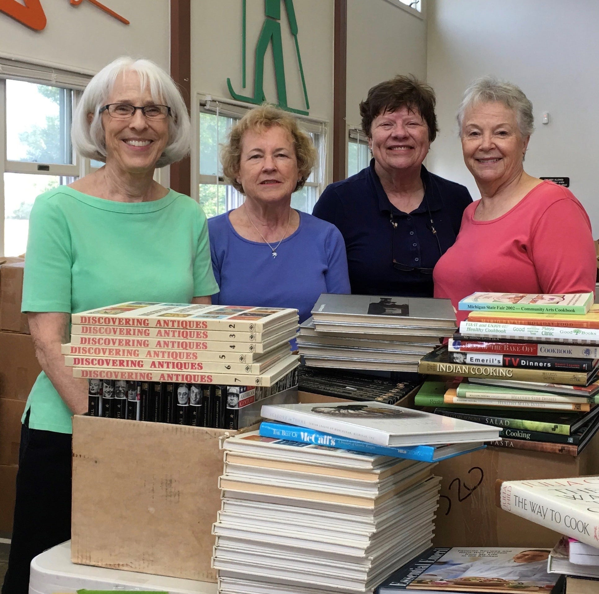 AAUW set for annual book sale fundraiser