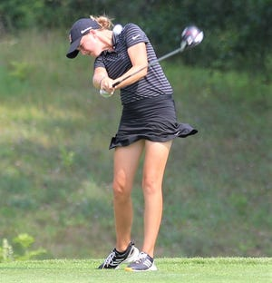 Northville sophomore Nicole Whatley was co-medalist in the Orangetheory Invitational at Hudson Mills.