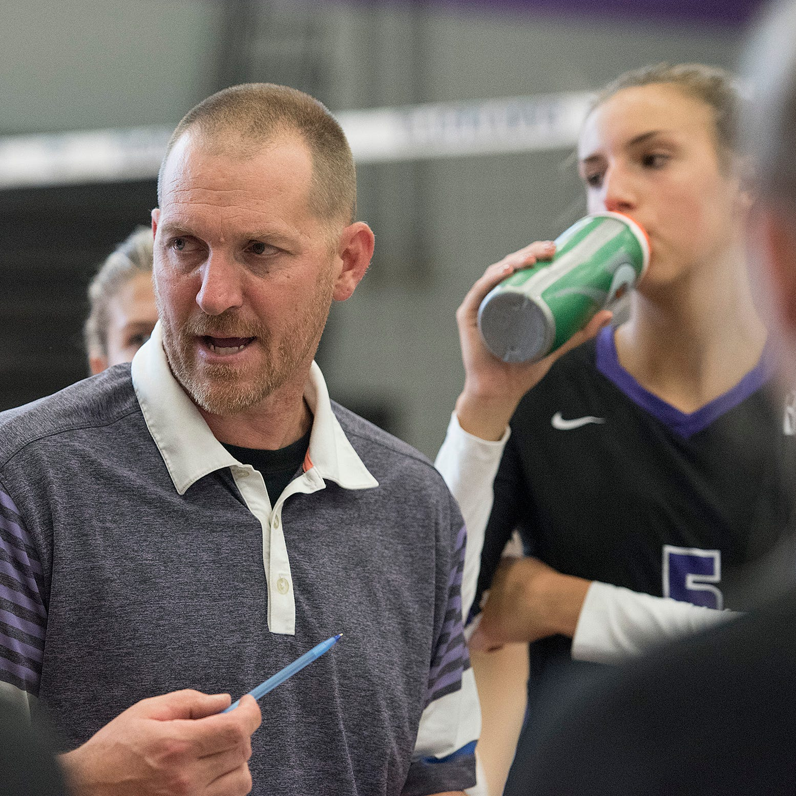 Young Bloomfield Hills team set to fly under new volleyball head coach