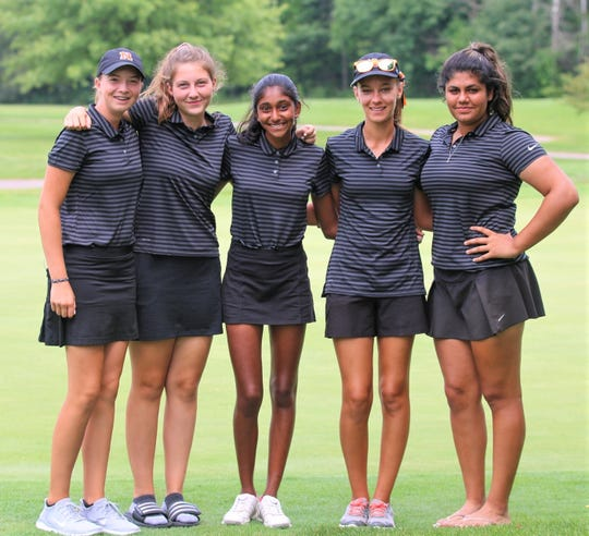 The Northville girls golf team placed first in the Orangetheory Invitational Aug. 15 at Hudson Mills.
