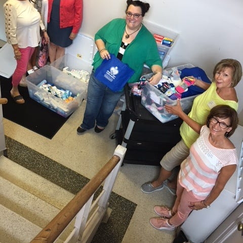 Giving Hope service project benefits young women at Vista Maria