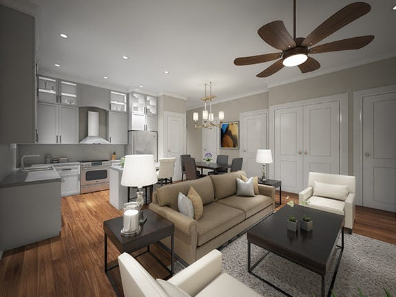 The townhomes will feature high-end finishes and amenities.