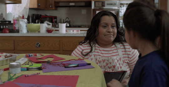 """In """"Happy Valentine's Day,"""" a 10-year-old girl is making a Valentines Day card for her crush. Her mother wants to know for who, so she snatches it from her daughter to discover it's not what she thinks. The film is being shown at the 2018 STAMPED Film Festival in Pensacola."""