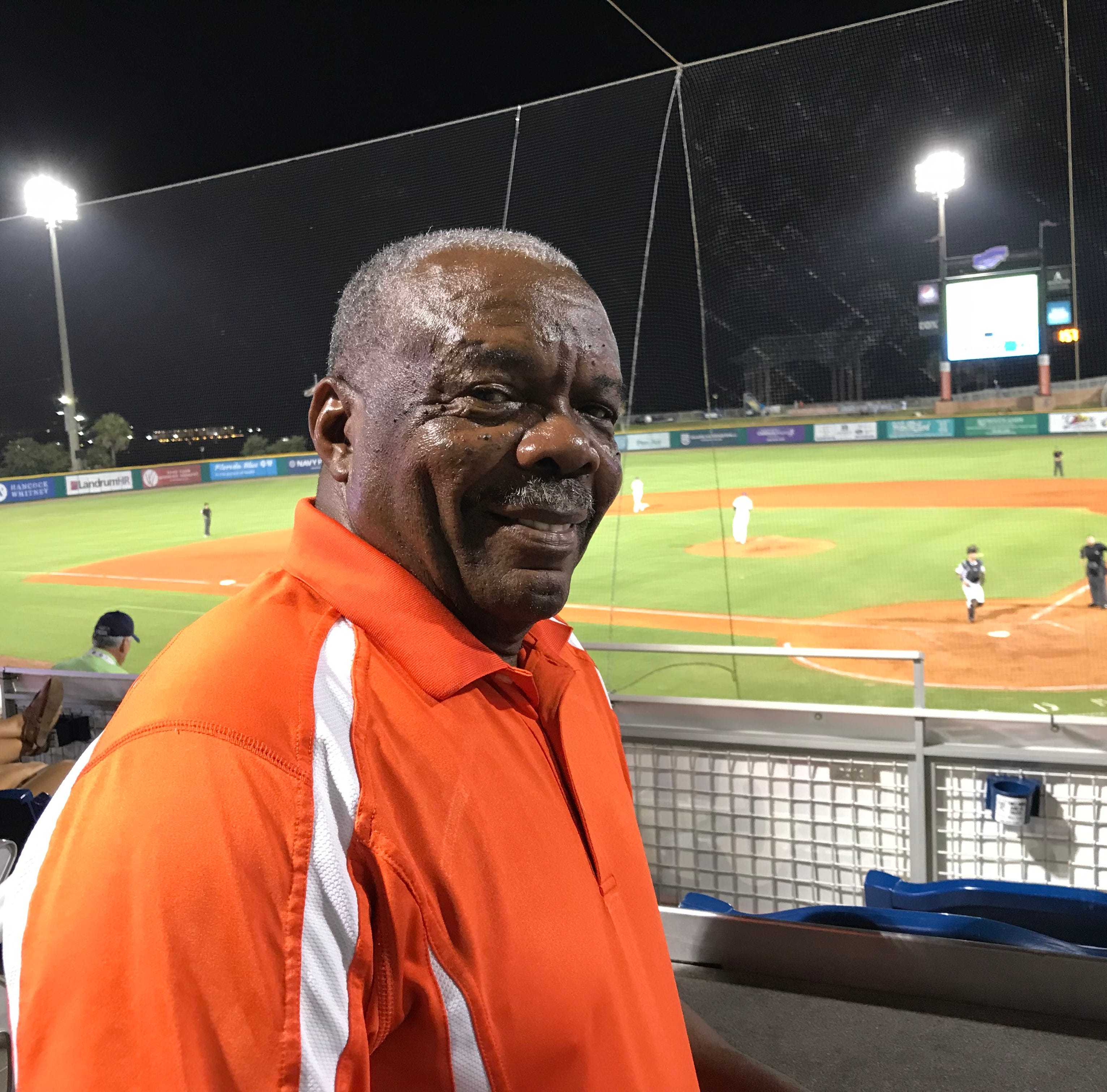 Pensacola's Rev. Freddie Augustine, a star second baseman on the 1955 Pensacola Jaycees will be honored with teammates Saturday night at Blue Wahoos Stadium for their role in a history-making Little League state playoff game