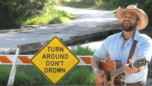 'Turn around': Weather Service's flood message is meant to get stuck in your head
