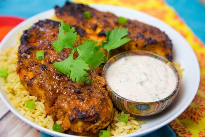 Chef Robin Miller highlights five cooking myths. Marinated chicken tandoori