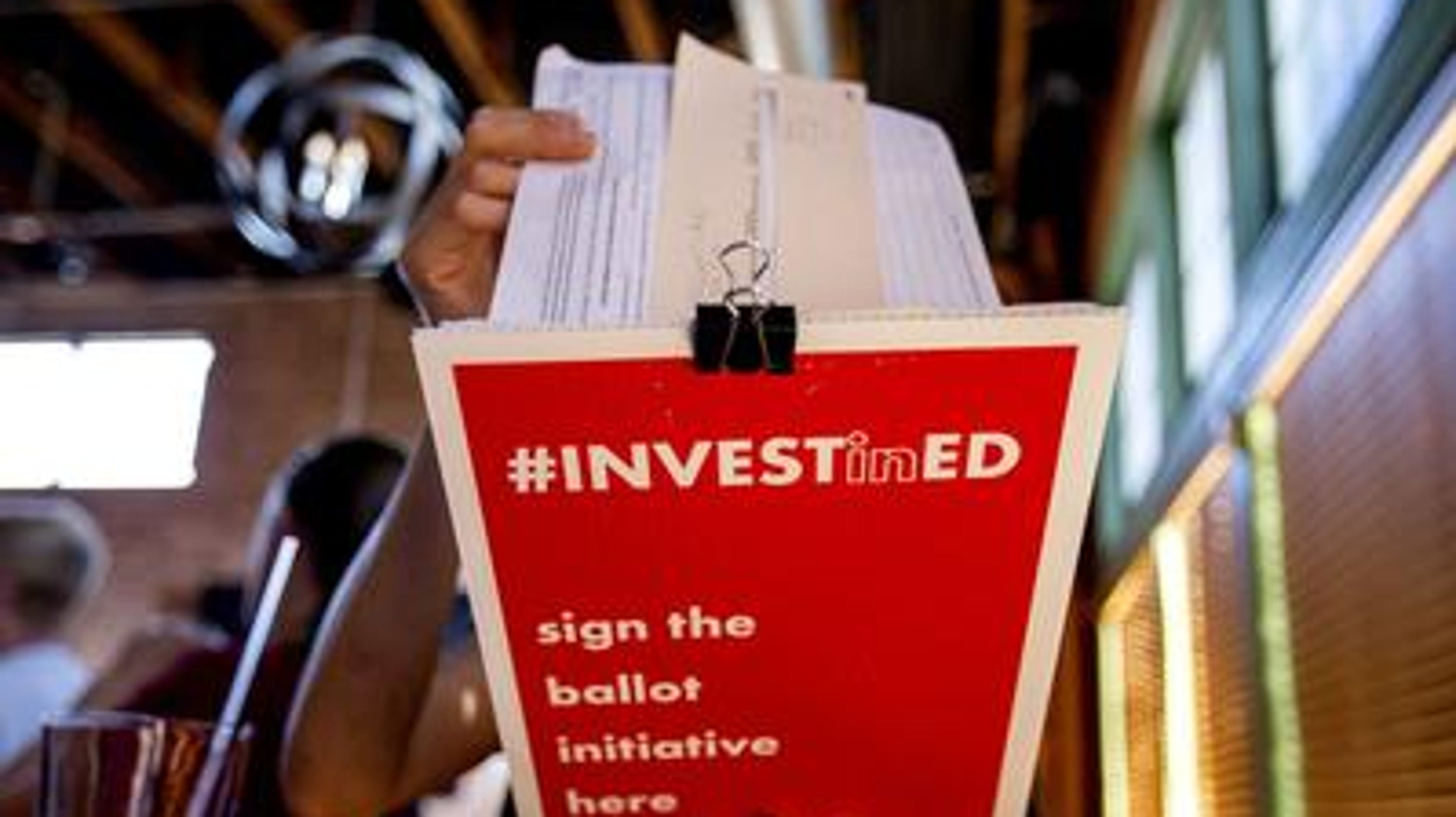 Invest in Education tax measure kicked off November ballot