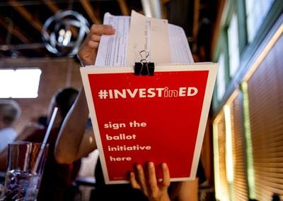 The Invest In Ed Pledge aims to show voters who are the 'true pro-public education candidates,' according to their website.