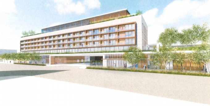 The Edition at Waterview, off Camelback Road and 73rd St., is one of eight new hotels being proposed for development in Scottsdale.
