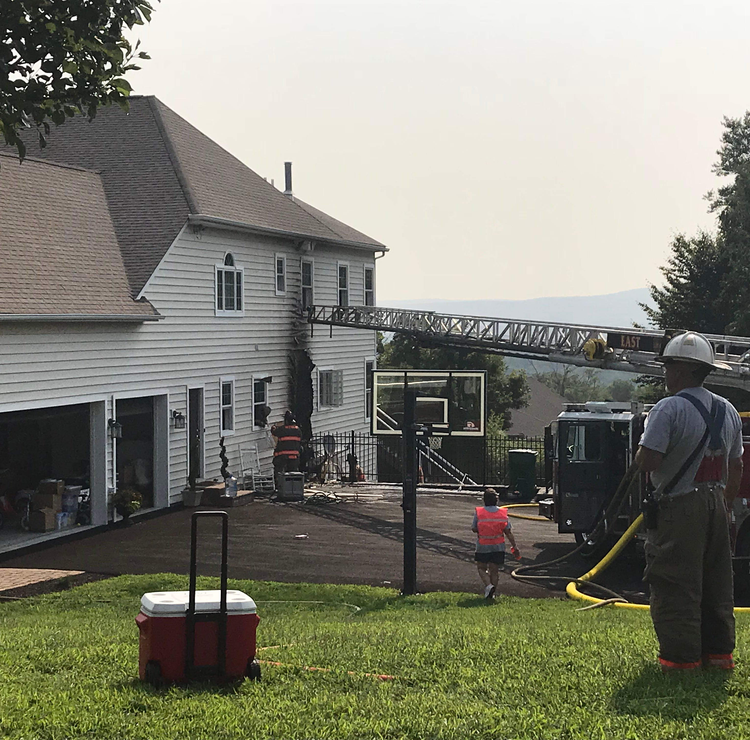 Fire damages Hopewell Junction home