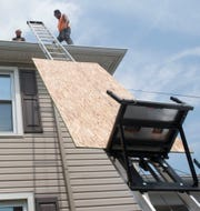 The rainy summer has roofers at Right Choice Roofing working overtime to try to stay on schedule.