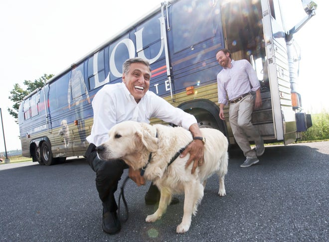 Congressman Lou Barletta (R-PA 11th District) met with employees and volunteers at Cumberland Valley Animal Shelter on Thursday, August 16, 2018. Rep. Barletta talked about his work with animal welfare issues.