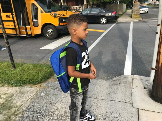 One tip for parents: Send a memento from home, such as a family photo, with your child on the first day of school to keep in his or her backpack or taped to a locker.