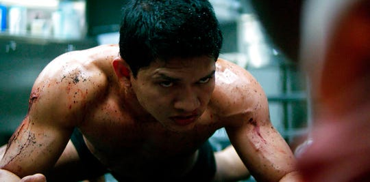 "Iko Uwais stars in ""Mile 22."" The movie is playing at Regal West Manchester Stadium 13 and R/C Hanover Movies."