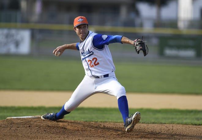 Hallam Express pitcher Matt Ruth.