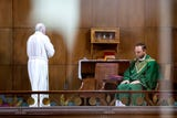 Father Daniel Richards of Saint Rose of Lima, in York, Pa., knows it will be a long road ahead for the Catholic church.