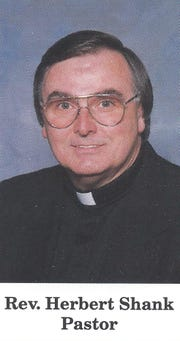The Rev. Herbert Shank, pictured in a St. Rose of Lima directory from 1994.