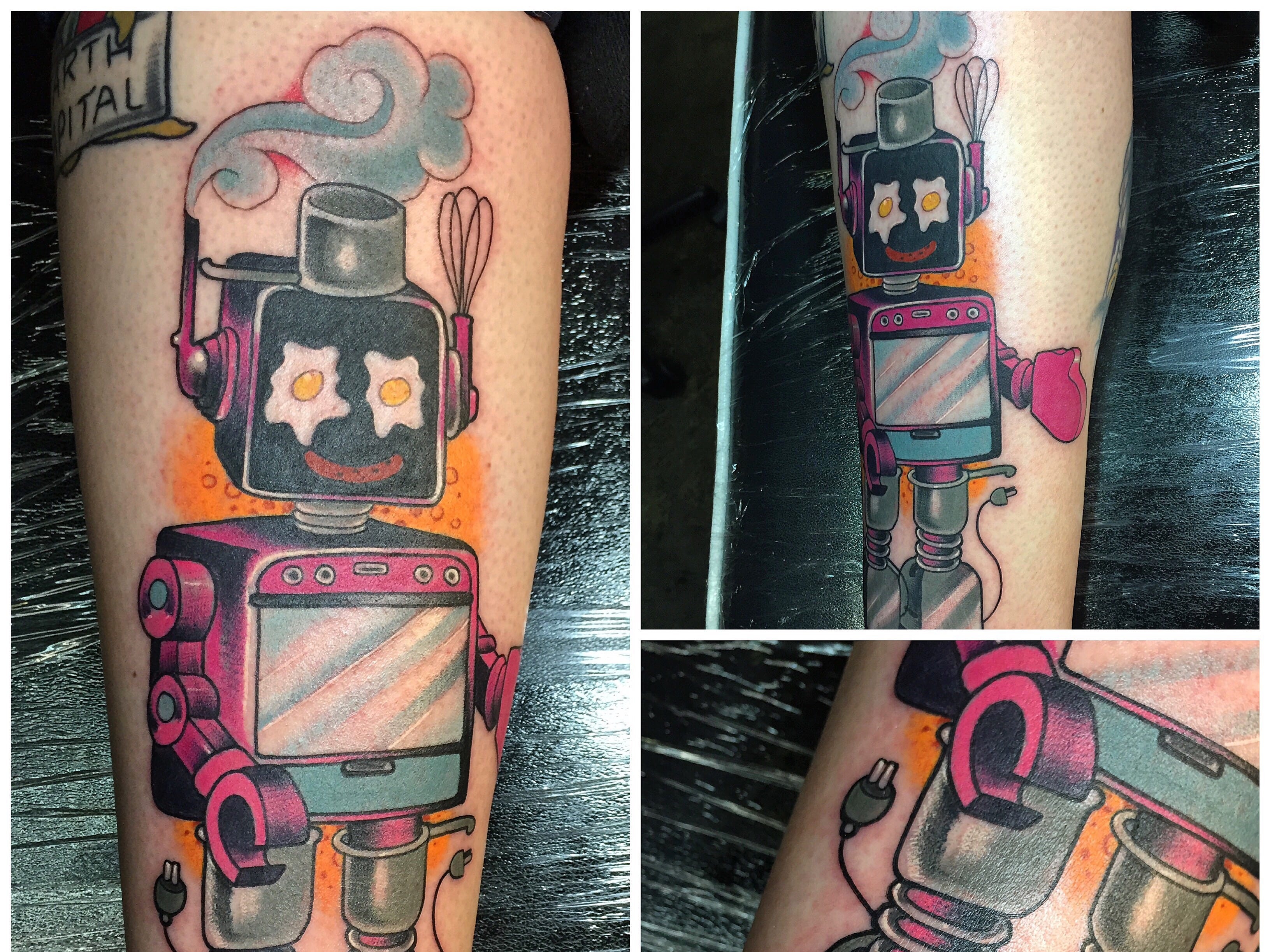 """Examples of tattoo artist Tony Medellin's work. Medellin competed in Paramount Network's reality TV show """"Ink Masters."""" The show airs Aug. 28, 2018."""