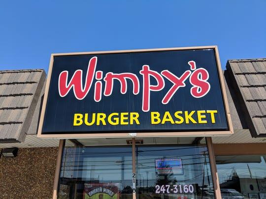 Wimpy's Burger Basket.