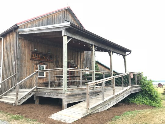 Lacey Magruder Vineyard & Winery, 462 Armstrong Road in Geneva, is housed in a 180-year-old barn.