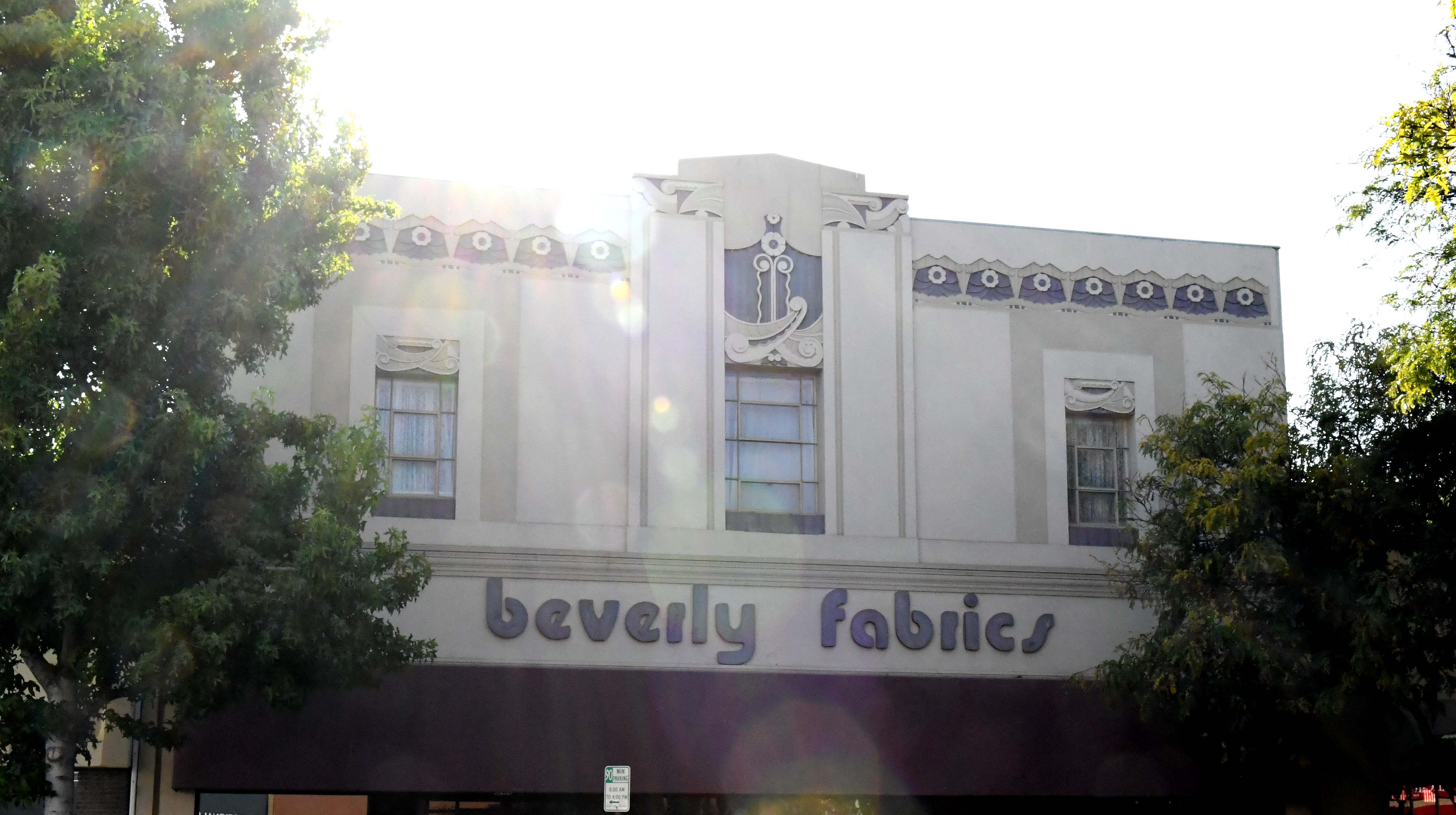 The former building of Beverly Fabrics in Oldtown Salinas.