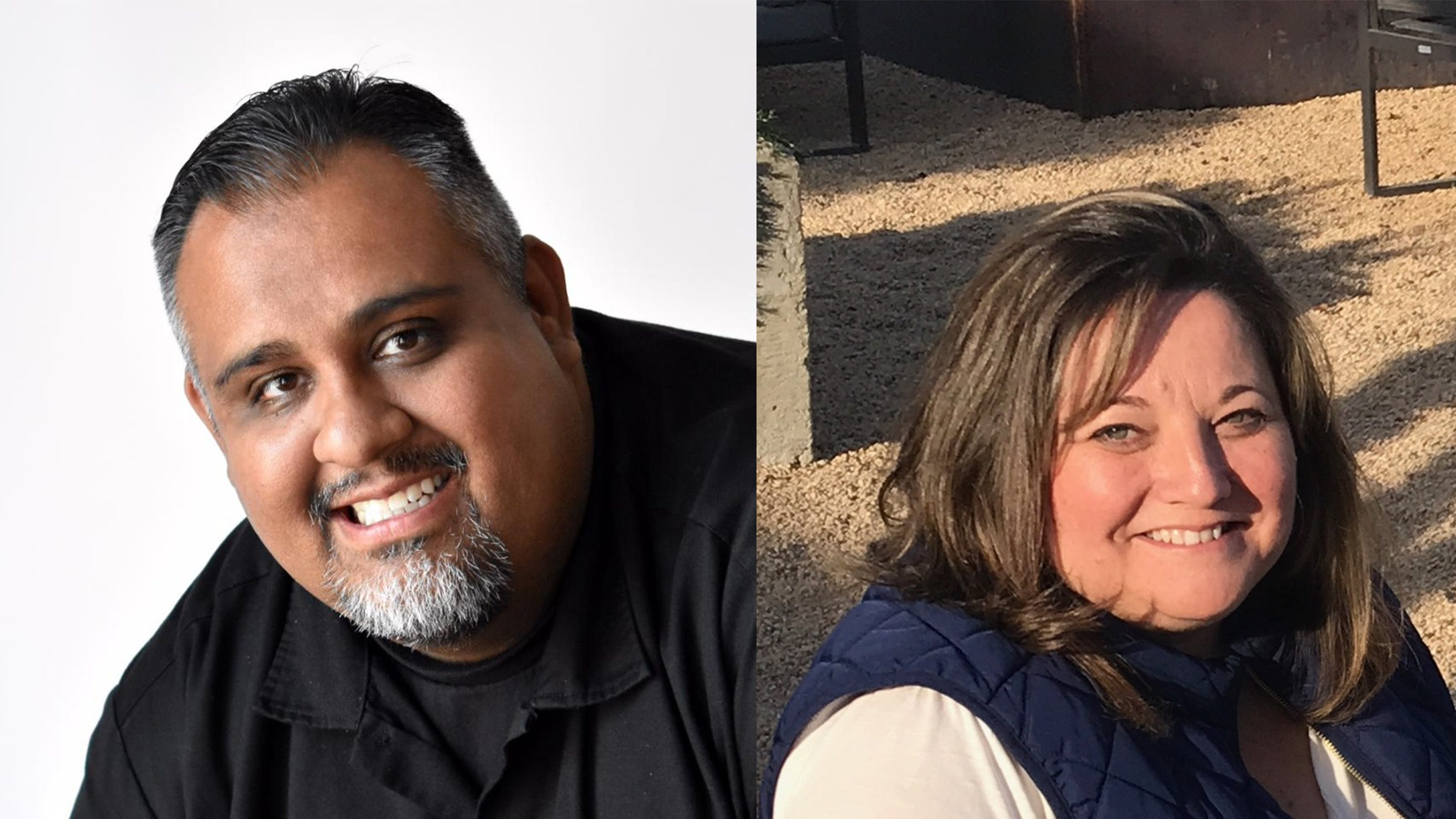 Andrew Sandoval and Christie Cromeenes are running for Salinas City Council District 5.
