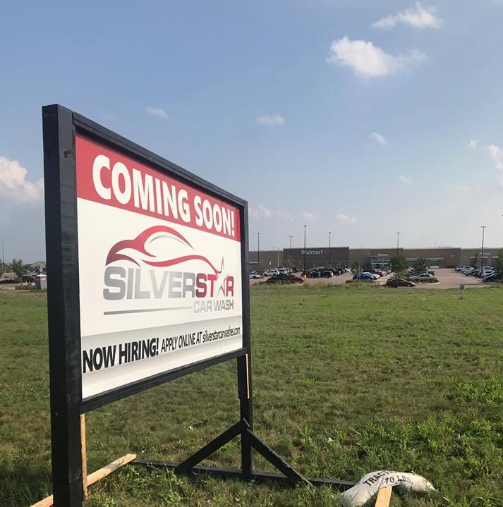 Silverstar plans sixth car wash at this booming southeast Sioux Falls intersection