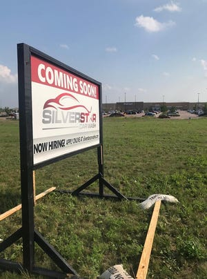 The future home of the sixth Silverstar car wash, in front of the Walmart near the corner of 85th Street and Minnesota Avenue in southeast Sioux Falls.