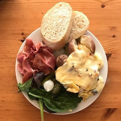 Raclette, a traditional Swiss dish served with melted cheese, will be available at Germanfest in Sioux Falls on Sept. 8.