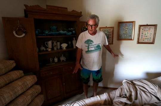Bobby Hamilton, 66, talks about his safe being stolen that contained $100,000 in cash.
