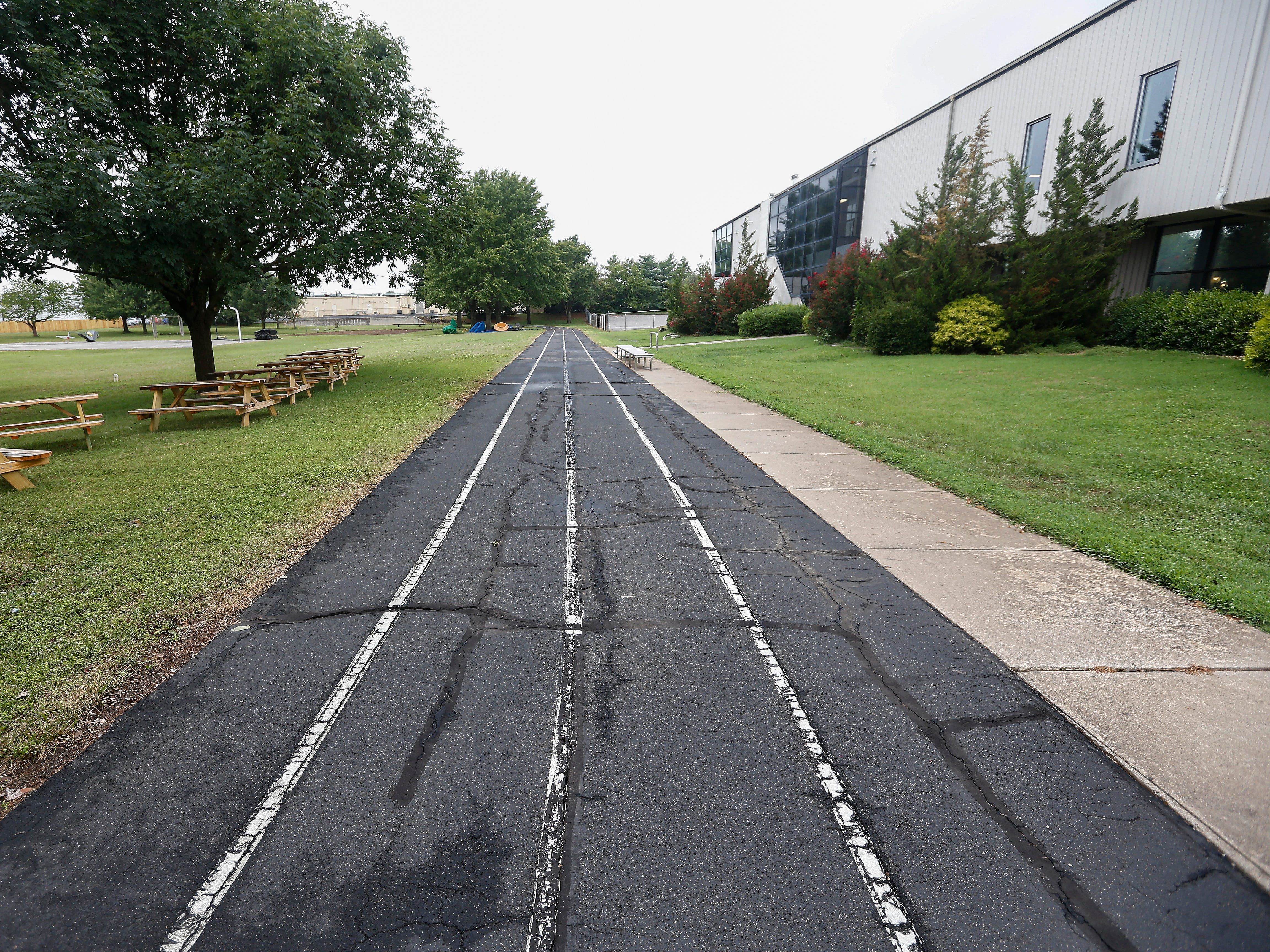 The track at the Summit Preparatory School.