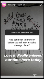While Billy Corgan and his Smashing Pumpkins bandmates were in Branson between concerts in Chicago and Kansas City, the band took live questions from fans over Instagram.