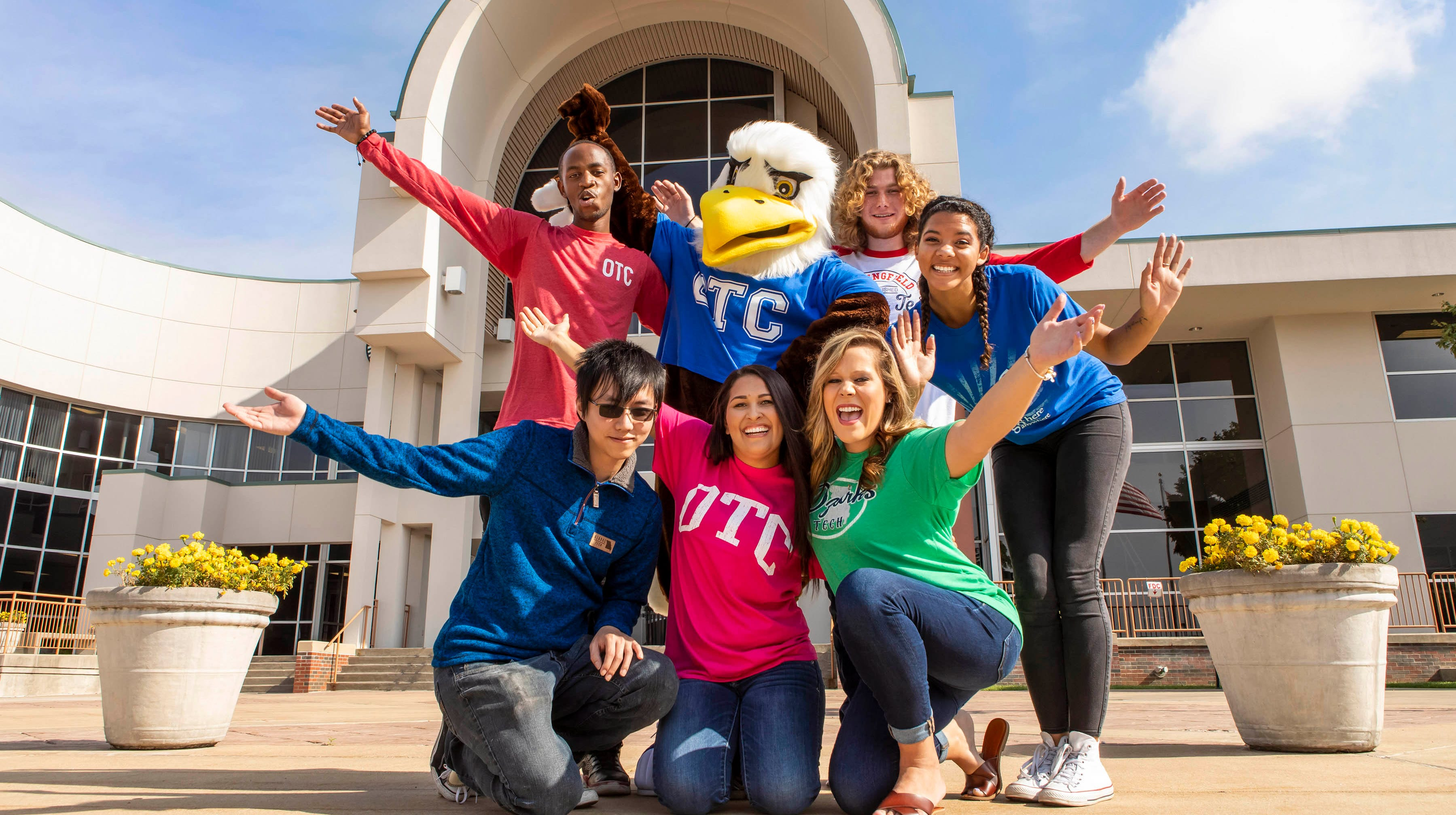 What's the one thing OTC needed? A real, life mascot. So meet Ozzy the Eagle