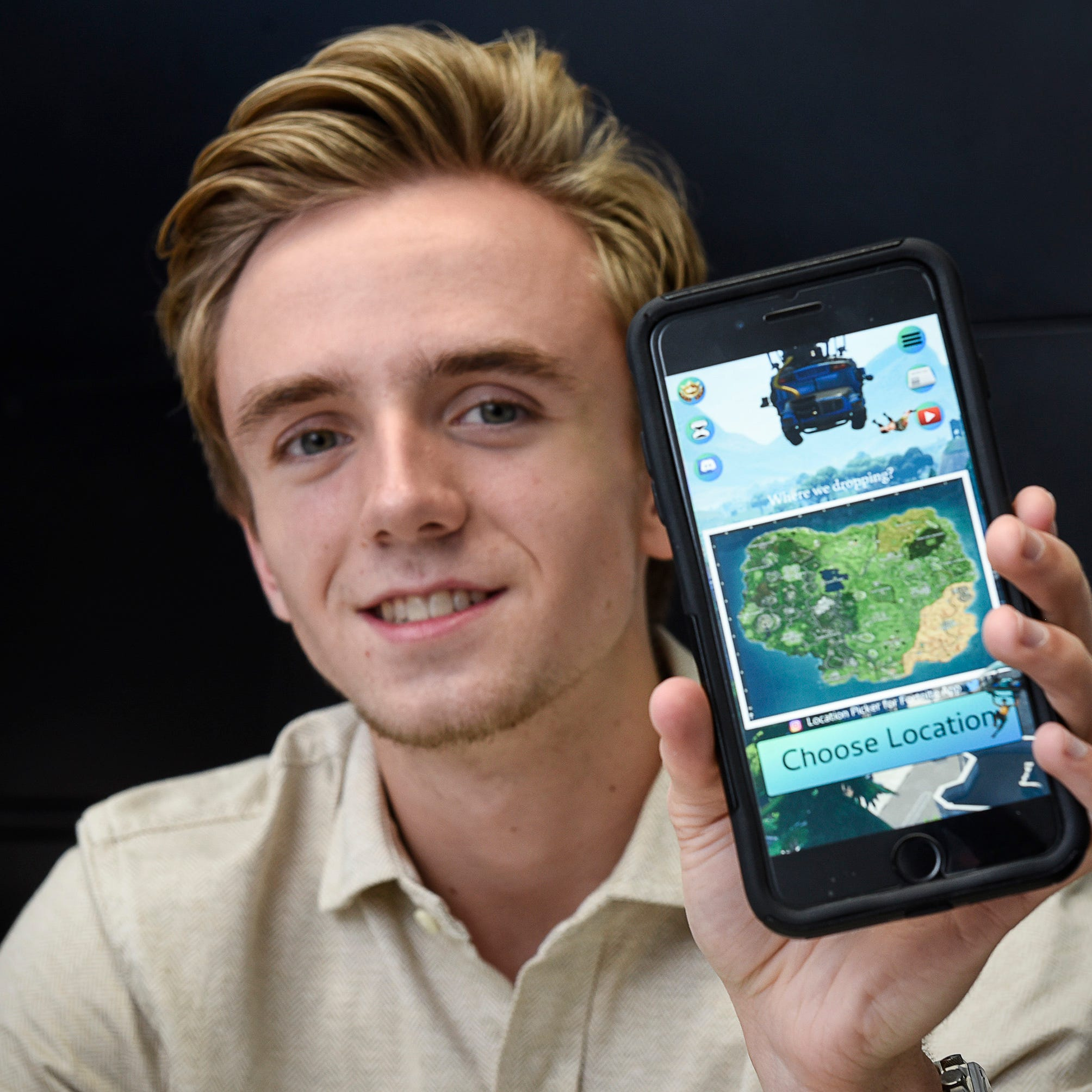 More than a game: Local teen's Fortnite app doubles as summer job