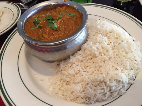 In this 2015 Times photo, lamb balti from Kohinoor Bar & Grill is pictured.