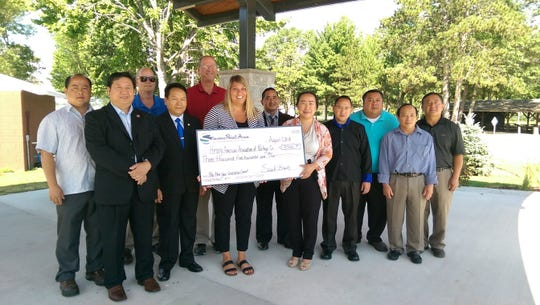 The Hmong American Association of Portage County receives a tourism grant from the Stevens Point Area Tourism Development Grant Fund.