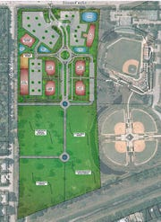 Hulbert Homes plan for the former Dodgertown golf course in Vero Beach.